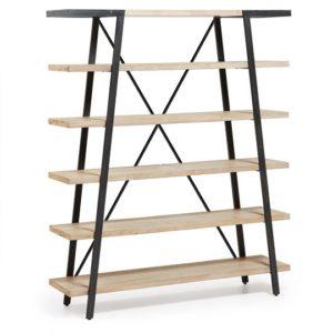 DISSET Bookshelf in solid acacia