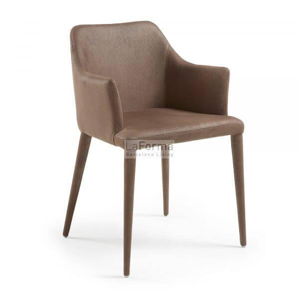 Nubuck Danai fabric armchairs