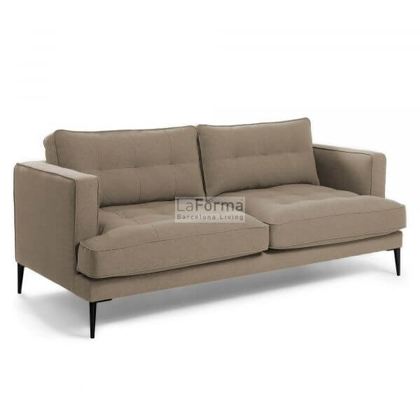Woven fabric Vinny 3 seater sofa
